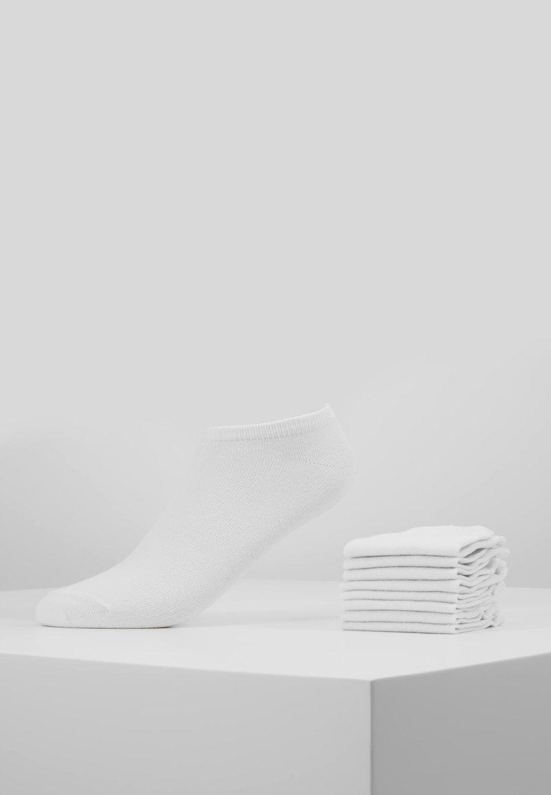 Anna Field - 8PP SNEAKER SOCKS  - Calze - white