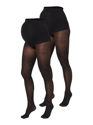 UMSTANDSSTRUMPFHOSEN 2ER-PACK 50 DEN - Tights - black