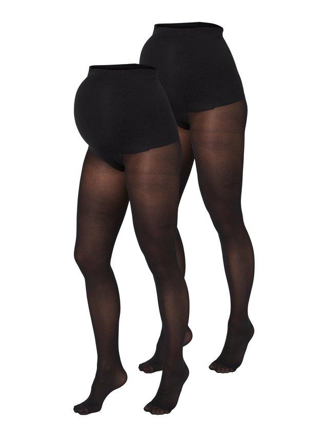 UMSTANDSSTRUMPFHOSEN 2ER-PACK 50 DEN - Panty - black