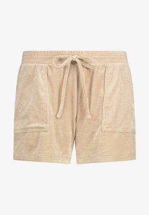 Pyjama bottoms - tan