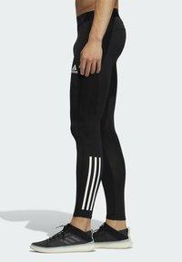adidas Performance - TECHFIT 3-STRIPES LONG TIGHTS - Leggings - black - 2