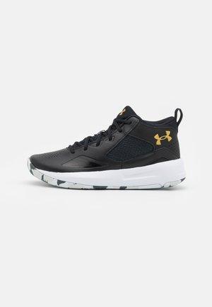 LOCKDOWN 5 - Chaussures de basket - black/white/gold