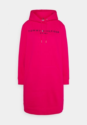 HOODIE DRESS - Day dress - bright jewel