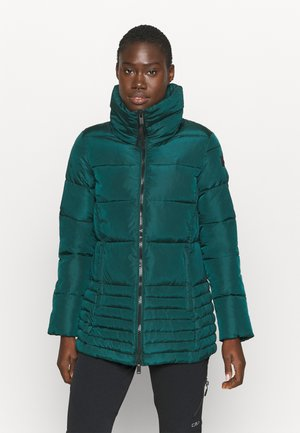 WOMAN MID JACKET - Winter jacket - petrolio