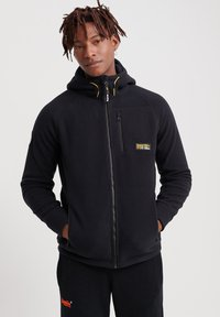 Superdry - Fleece jacket - black - 0