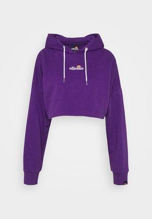 REEDIA - Jersey con capucha - dark purple