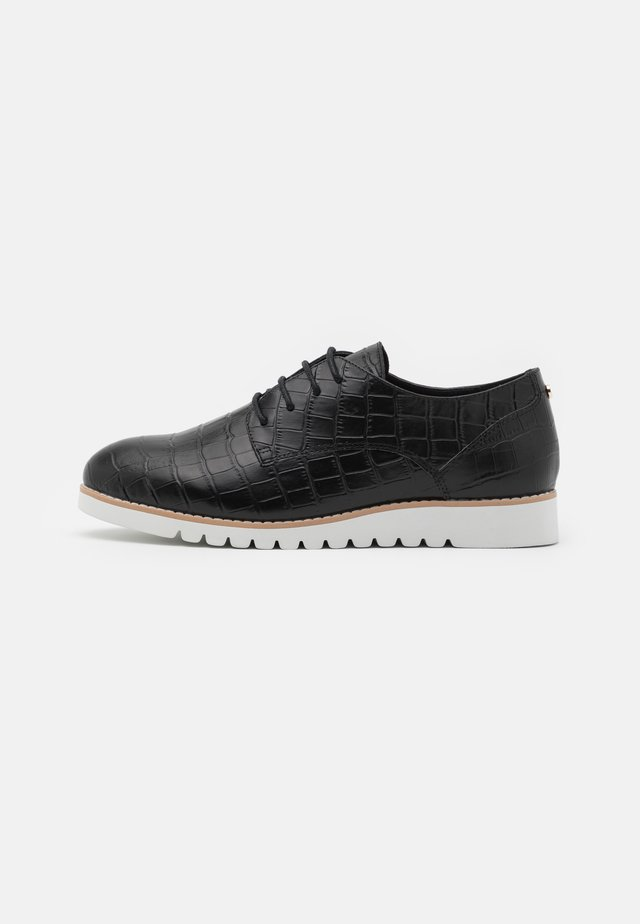 FLINCH - Casual lace-ups - black