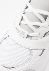 KARL LAGERFELD - SKYLINE DELTA LACE MIX - Trainers - white/silver - 2