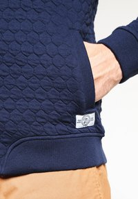 Pier One - veste en sweat zippée - navy - 4
