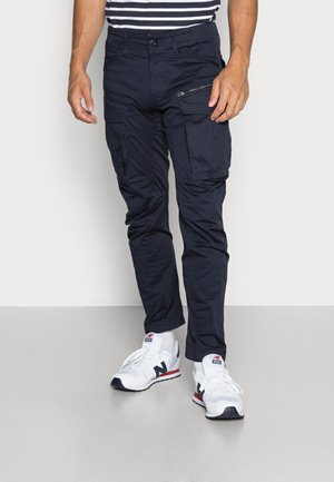 ROVIC ZIP TAPERED - Cargo trousers - dark blue