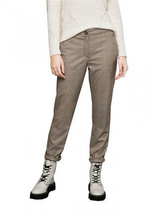 SIENA - Trousers - brown mix