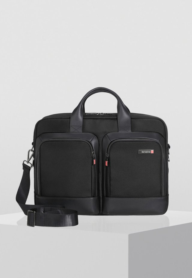 SAFTON - Briefcase - black