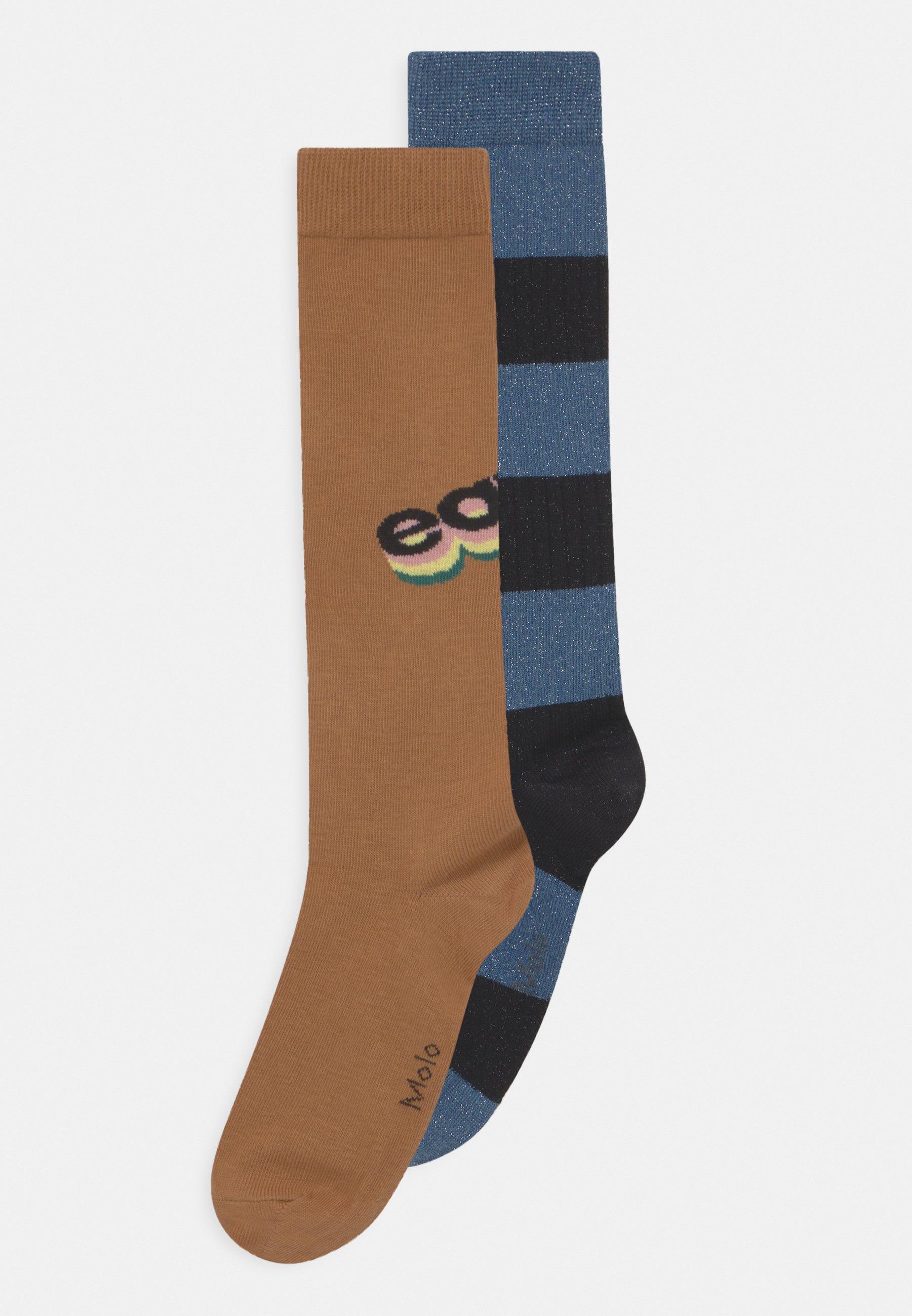 Kids NORVINA 2 PACK UNISEX - Knee high socks