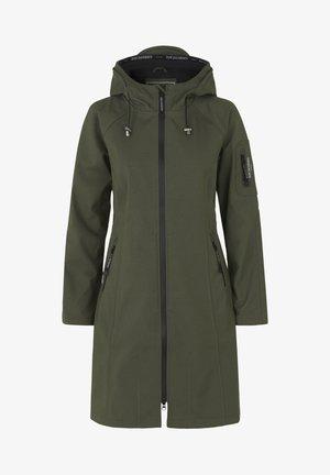 Waterproof jacket - army