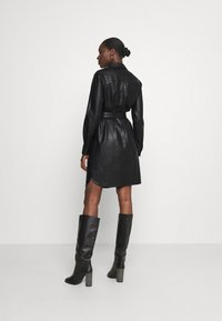 Opus - WELONI - Robe chemise - black - 2