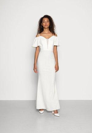 TALLY FLARE SLEEVE MAXI DRESS - Suknia balowa - white