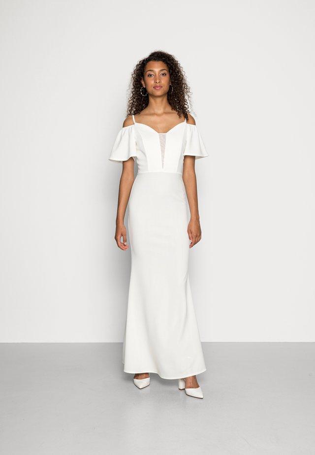 TALLY FLARE SLEEVE MAXI DRESS - Iltapuku - white