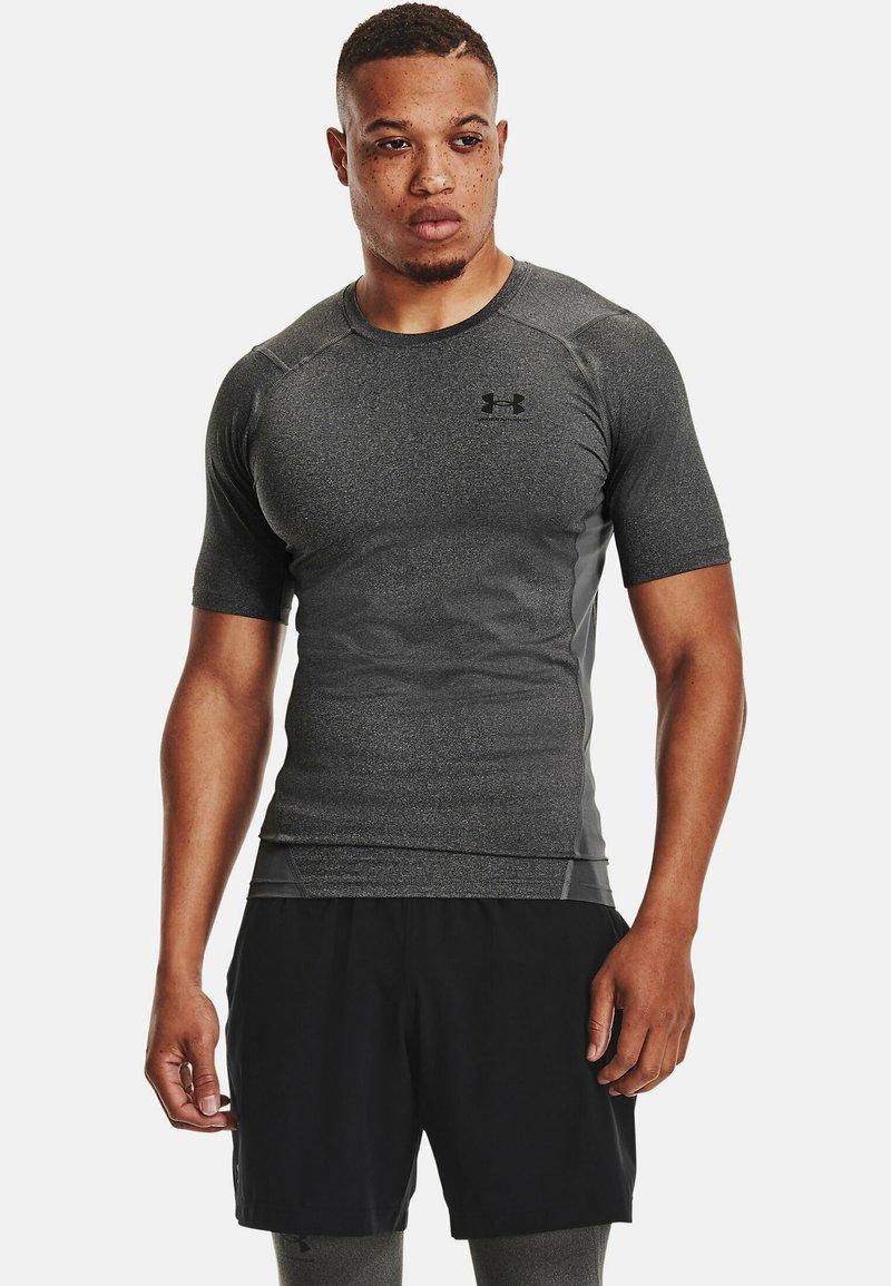 Under Armour - COMP - T-shirts print - carbon heather