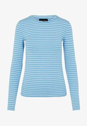 MIT LANGEN ÄRMELN GESTREIFTES - Long sleeved top - kentucky blue