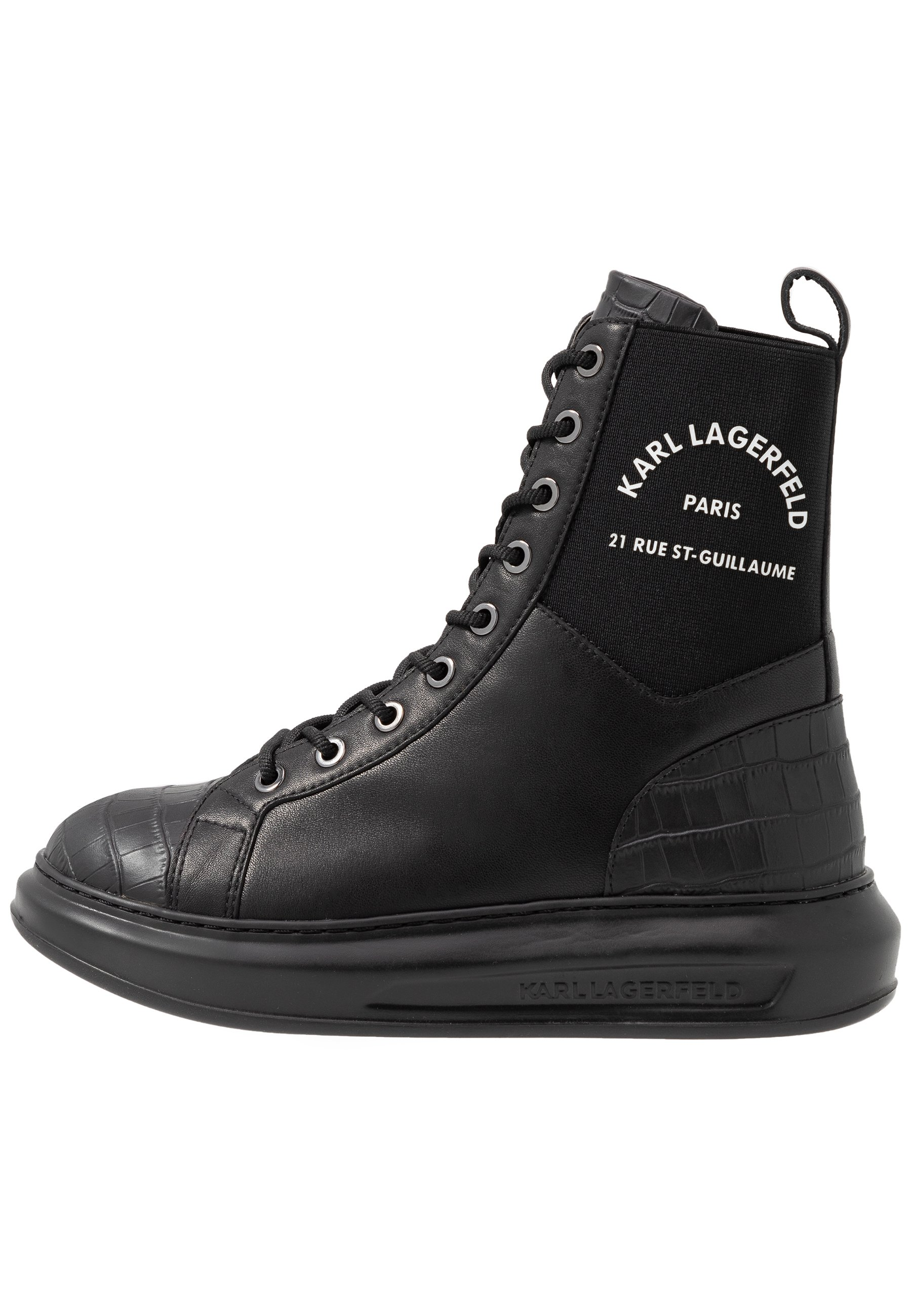 KARL LAGERFELD KAPRI MAISON Höga sneakers black Zalando.se