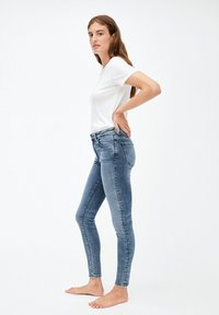 ARMEDANGELS - TILLAA - Slim fit jeans - stone wash - 3