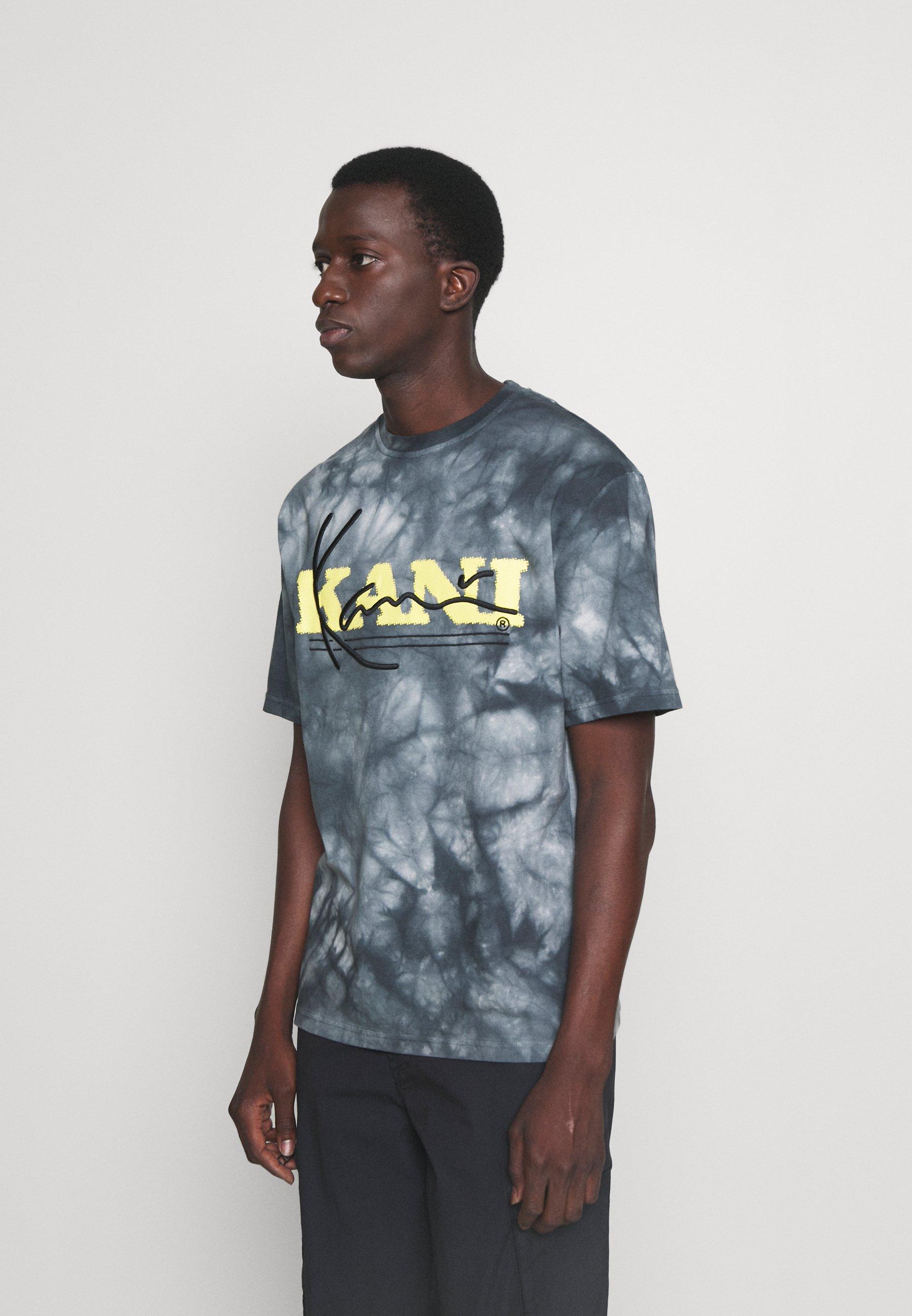 Homme RETRO TIE DYE TEE UNISEX - T-shirt imprimé