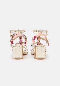 KHARISMA - Sandals - laminato platino - 3