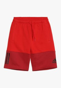 adidas Performance - SID SHORT - Krótkie spodenki sportowe - scarlet/maroon/black - 0