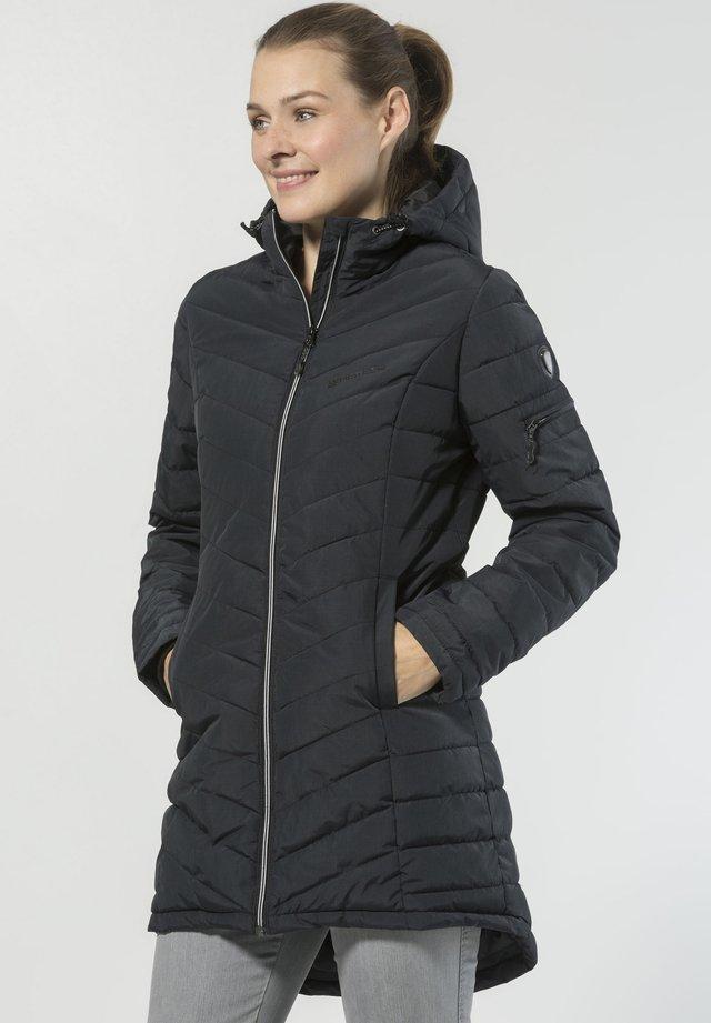 PASCAGOULA - Winter coat - black mottled
