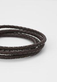 Paul Smith - BRACELET WRAP - Bracciale - chocolate - 2
