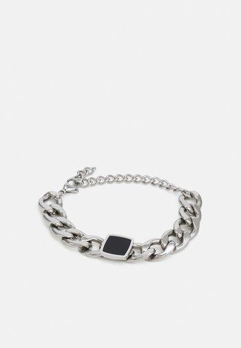 BRACELET WITH SQUARE - Bracelet - silver-coloured