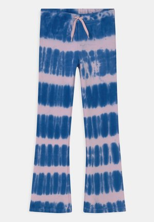 ALFREDA - Tracksuit bottoms - electric reef