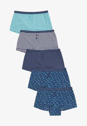 5 PACK - Kalhotky - blue