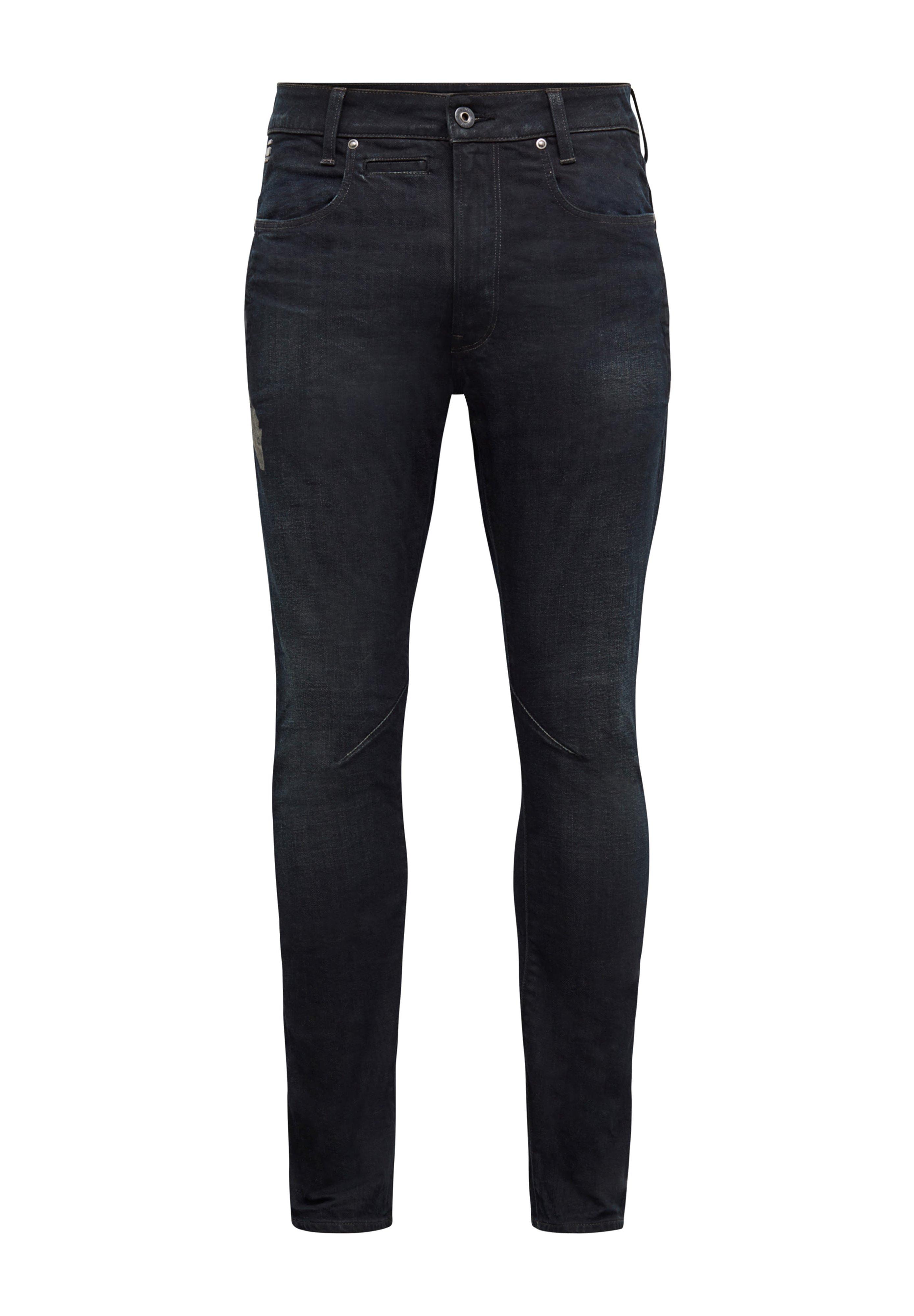 Uomo D-STAQ  WOKKIE AW ANTIC - Jeans slim fit