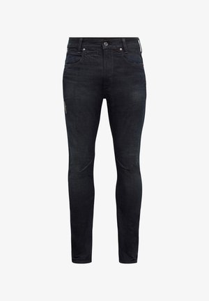 D-STAQ  WOKKIE AW ANTIC - Slim fit jeans - antic dark ink blue