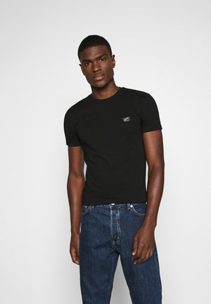 SUPER SLIM FIT - Basic T-shirt - black