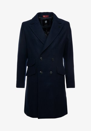 DOUBLE BREASTED PALETOT - Classic coat - mazarine blue