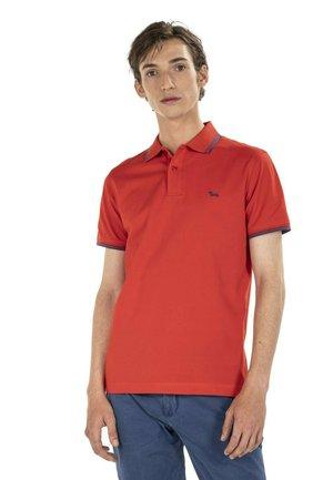 Poloshirt - rosso screziato