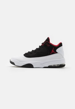 MAX AURA 2 - Baskets montantes - white/gym red/black