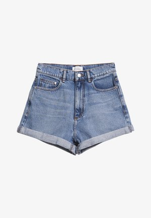 ARMEDANGELS DENIM SHORTS AUS BIO-BAUMWOLLE SILVAA - Denim shorts - faded blue