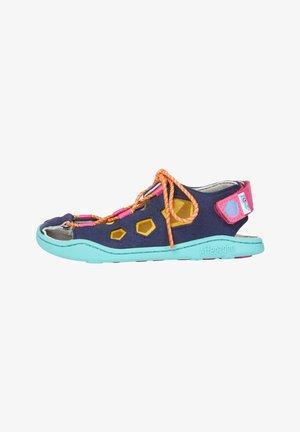 Walking sandals - navy blue