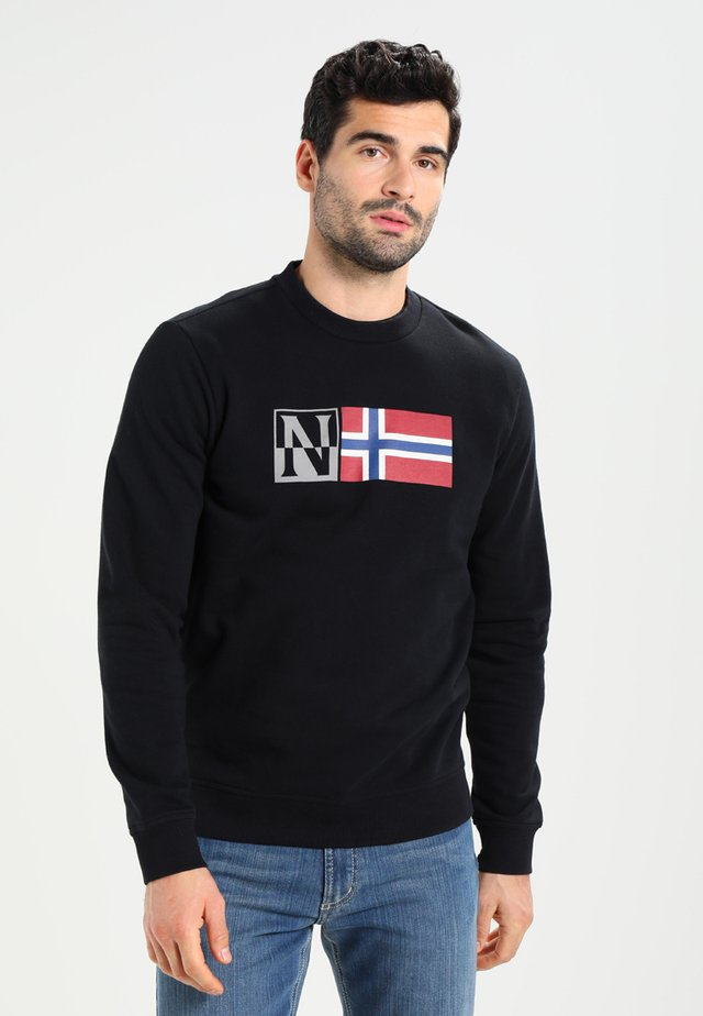 BENOS CREW - Sweater - black