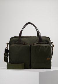 Filson - DRYDEN BRIEFCASE - Attachetasker - ottergreen - 0