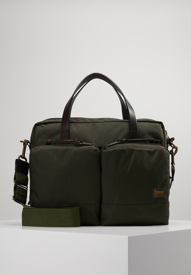 DRYDEN BRIEFCASE UNISEX - Aktentasche - ottergreen