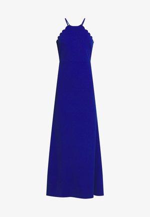 SCALLOP EDGE DRESS - Ballkjole - electric blue