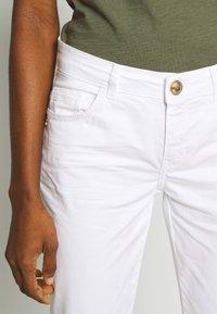 Mos Mosh - SUMNER DECOR PANT - Kalhoty - white - 3