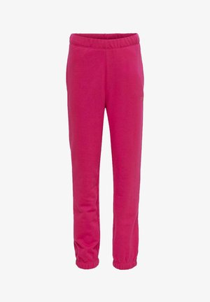 Tracksuit bottoms - pink peacock