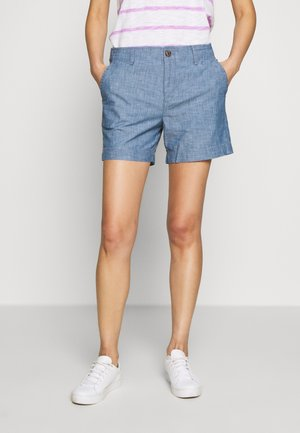Shorts - indigo chambray