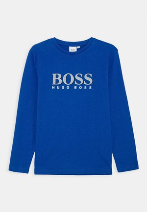 LONG SLEEVE  - Long sleeved top - electric blue