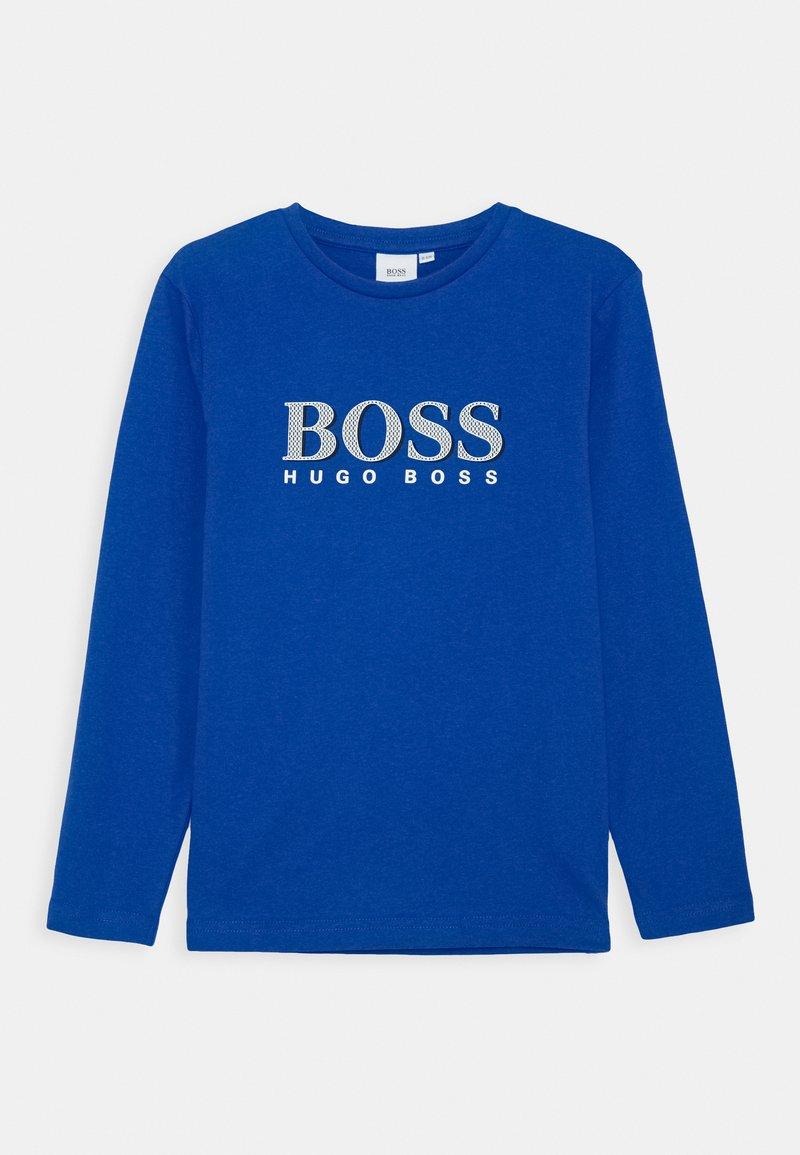 BOSS Kidswear - LONG SLEEVE  - Top sdlouhým rukávem - electric blue